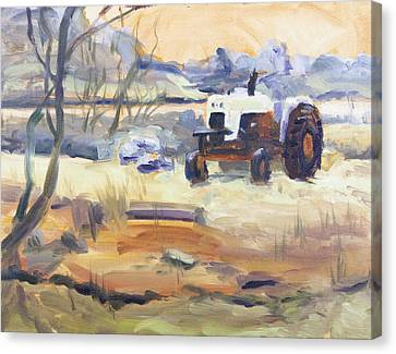 Abandoned Canvas Print by Elena Liachenko