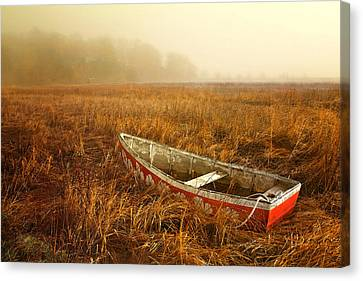 Abandoned Canvas Print by Karen Lynch