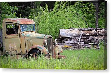 Canvas Print featuring the photograph Abandoned by Steve McKinzie