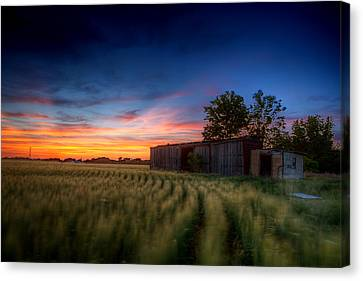 Hdr Landscape Canvas Print - Abandoned View by Thomas Zimmerman