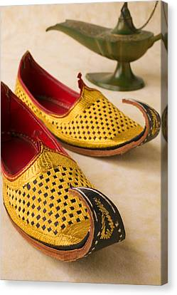 Abarian Shoes Canvas Print by Garry Gay