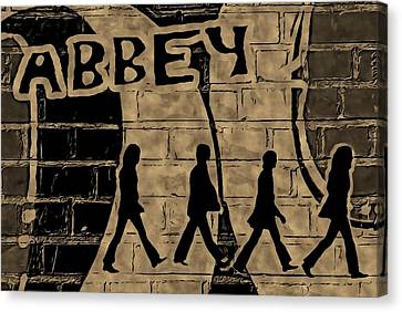 Abbey Road Canvas Print - Abbey by ABA Studio Designs