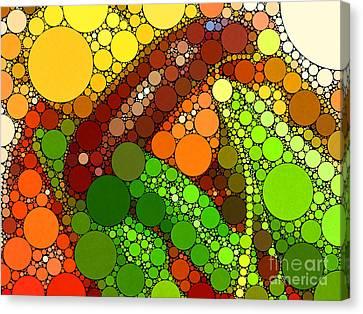 Abbondanza Canvas Print by Christine Segalas