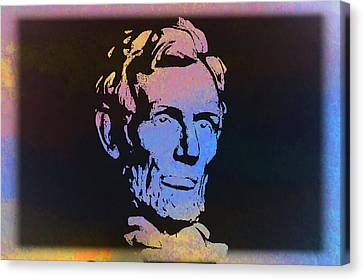Abe Canvas Print by Bill Cannon