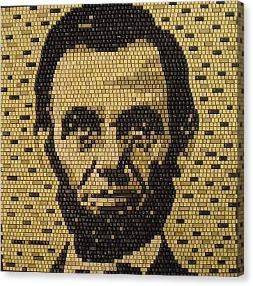 Abe Lincoln Canvas Print