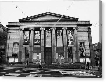 Aberdeen Music Hall Formerly The Citys Assembly Rooms Union Street Scotland Uk Canvas Print by Joe Fox