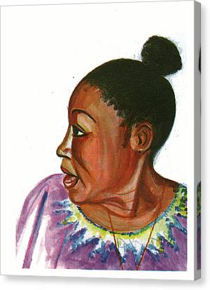 Abeti Masikini Canvas Print by Emmanuel Baliyanga