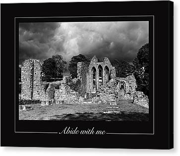 Abide With Me Canvas Print by David McFarland