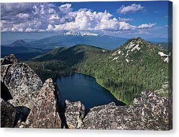 Above Castle Lake Canvas Print