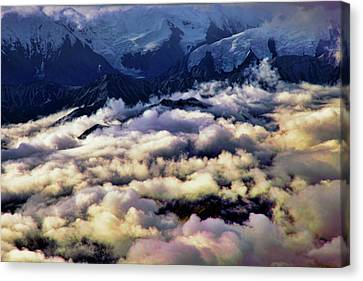 Above The Clouds Canvas Print by Rick Berk