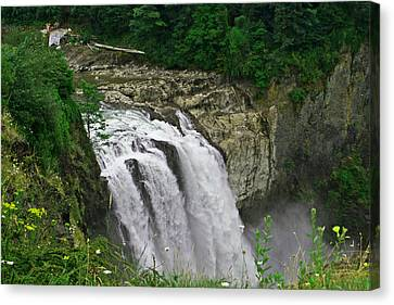 Above The Falls Canvas Print
