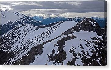 Above The Ridge Canvas Print
