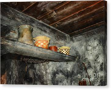 Above The Stove Canvas Print by Jutta Maria Pusl