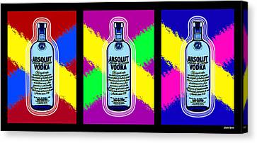 Absolut Canvas Print by Stephen Younts