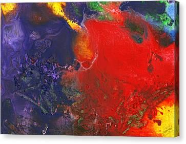 Abstract - Crayon - Andromeda Canvas Print by Mike Savad
