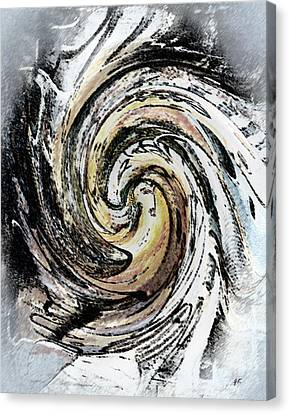 Abstract - Turmoil Canvas Print by Gerlinde Keating - Galleria GK Keating Associates Inc