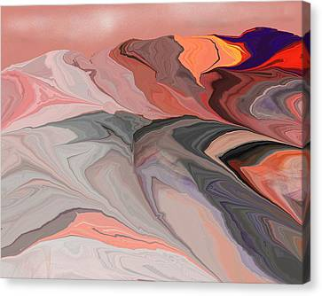 Abstract 012812abc Canvas Print by David Lane