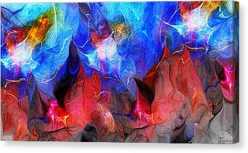 Abstract 032812a Canvas Print by David Lane