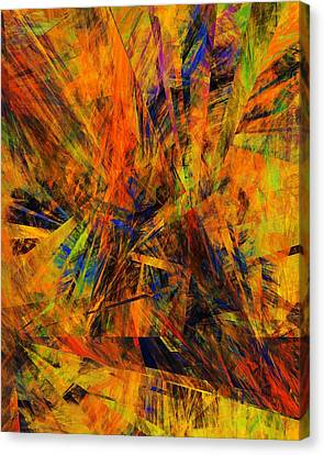 Abstract 100611 Canvas Print by David Lane