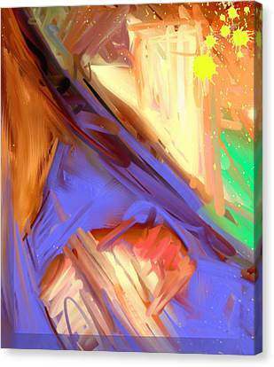 Abstract 4 Canvas Print by Snake Jagger
