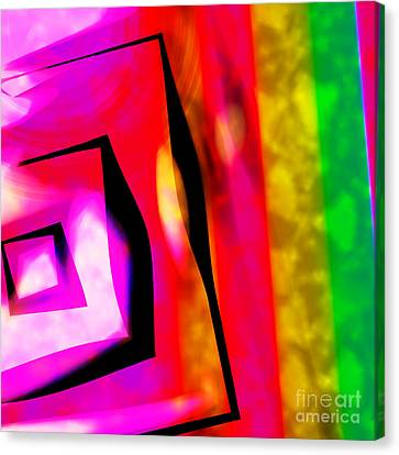 Abstract Angles And Lines Canvas Print