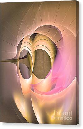 Abstract Art - Dies Laetitiae Canvas Print by Abstract art prints by Sipo