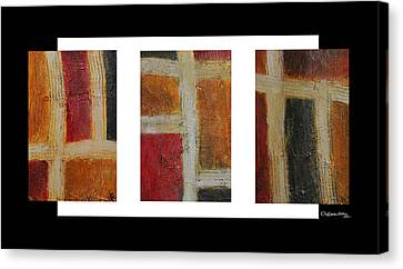 Xoanxo Canvas Print - Abstract Collage 1 by Xoanxo Cespon