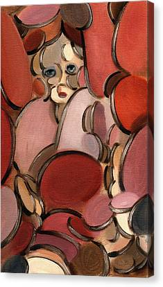 Abstract Doll Canvas Print by TOmmervik
