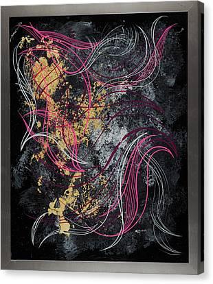 Abstract Feelings Canvas Print
