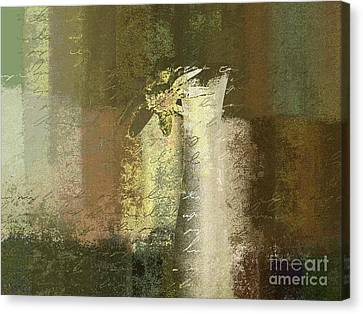 Abstract Floral 04v2g Canvas Print by Variance Collections