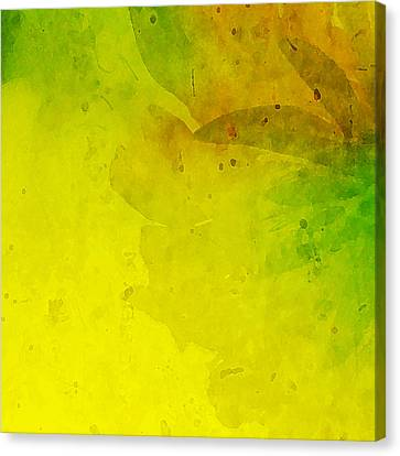 Abstract Floral Canvas Print by Bonnie Bruno