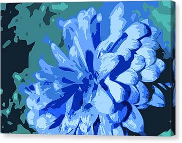 Abstract Flowers 2 Canvas Print by Sumit Mehndiratta