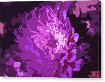 Abstract Flowers 3 Canvas Print by Sumit Mehndiratta