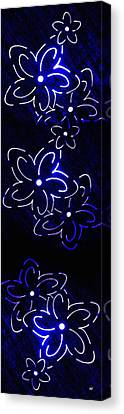 Abstract Fusion 106 Canvas Print by Will Borden