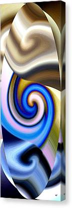 Abstract Fusion 114 Canvas Print by Will Borden