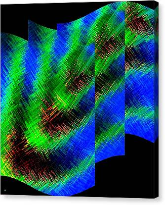 Abstract Fusion 130 Canvas Print by Will Borden