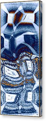 Abstract Fusion 137 Canvas Print by Will Borden