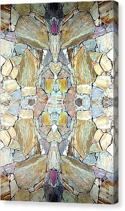 Abstract Fusion 67 Canvas Print by Will Borden