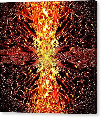 Abstract Fusion 73 Canvas Print by Will Borden