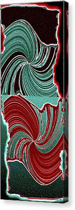 Abstract Fusion 88 Canvas Print by Will Borden