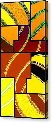 Abstract Fusion 92 Canvas Print by Will Borden