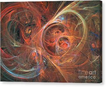 Abstract Galaxy - Abstract Art Canvas Print by Abstract art prints by Sipo
