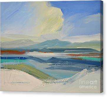 Abstract Landscape No. 2 Canvas Print by Barbara Tibbets