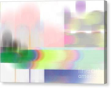 Abstract Landscape Canvas Print by Sonali Gangane