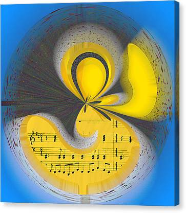 Abstract Music Canvas Print