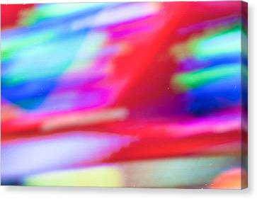Abstract Oil Background Canvas Print by Tom Gowanlock