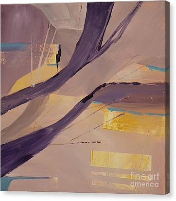 Abstract Orchard Canvas Print by Barbara Tibbets