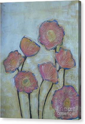 California Poppies Canvas Print by Vesna Antic