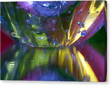 Abstract Series 4 No.4 Canvas Print by B L Hickman