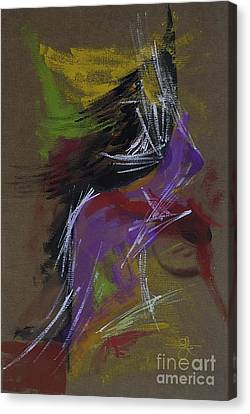 Abstract Woman Canvas Print